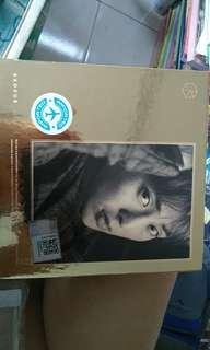 EXO  album  EXODUS xiu min K  version  with tao  photocard
