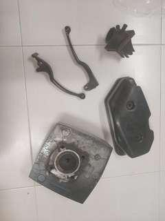 suzuki txr 150 panther head and parts