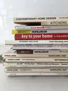 FREE - Interior Design magazines #bundlesforyou