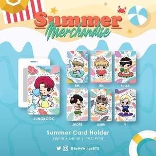 BTS Summer Merchandise