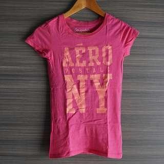 Aeropostale Fuchsia Graphic T Shirt