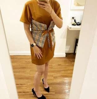 Burberry mini dress