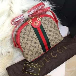 MUST HAVE!!!! TERMURAH!!! Gucci slingbag tas import wanita sale tas diskon tas