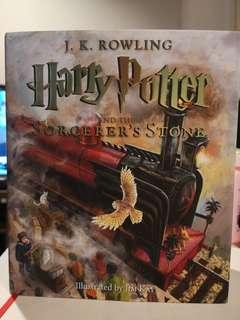 Harry Potter and the Sorcerer's Stone Illustrated Version