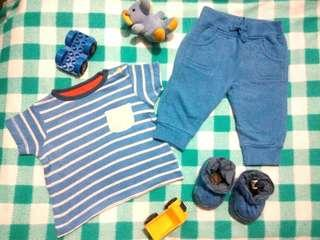 Preloved baby boy's clothes