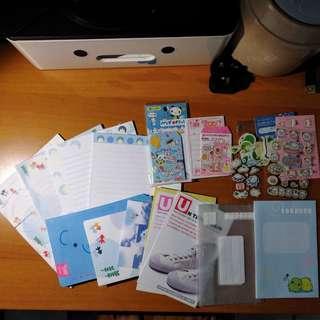 信紙套裝+貼紙褔袋