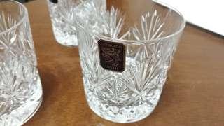 Edinburgh crystal whisky tumbler glass