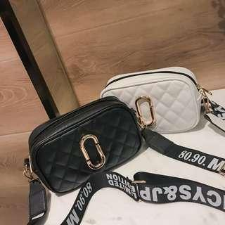 Marc Jacobs inspired thick strap bag
