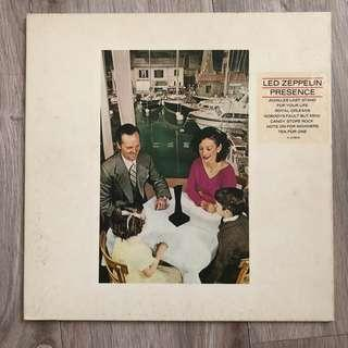 🚚 Led Zeppelin Presence Vinyl LP Original 1976 release Japan