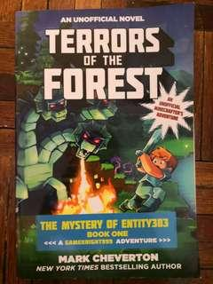 Terror of the Forest: The Mystery of Entiry303 Book One: A Gameknight999 Adventure