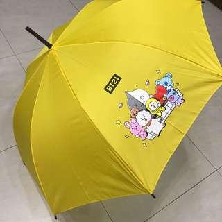 🚚 BTS防彈少年團周邊BT21限量雨傘