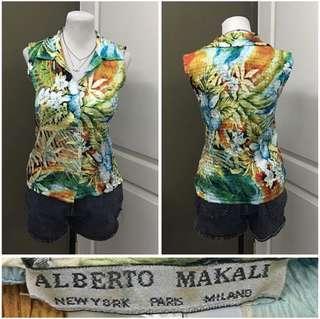 Floral blouse (small-medium) 50 pesos inly!