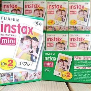 Instax Film Twin Pack (20pcs)