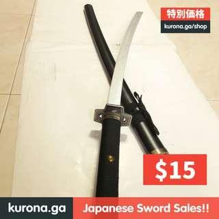 🚚 🉐 $15/set! Roronoa Zoro Yubashiri Katana (In-stock)