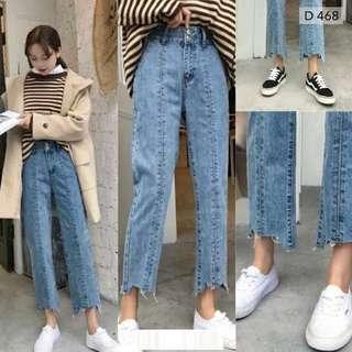 Celana ripped jeans aororaku