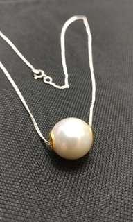 天然日本淡水珍珠項鍊