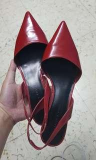 Charles & Keith red shoes