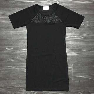 🚚 黑色洋裝 網紗 性感👗