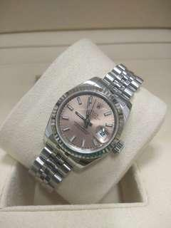 Rolex Ladies DateJust 179174 Pink dial 26mm Automatic
