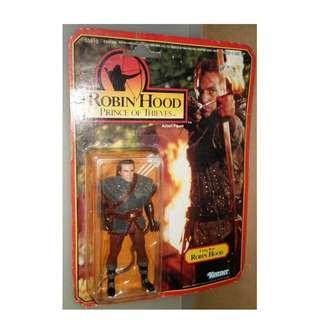 絕版 懷舊 超殘舊 1991年 Kenner ROBIN HOOD movie 俠盜羅賓 action figure 1款