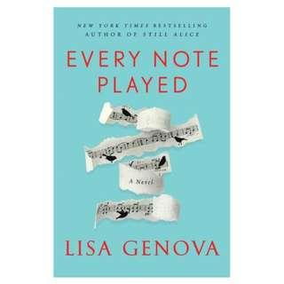 [Ebook] Every Note Played by Lisa Genova