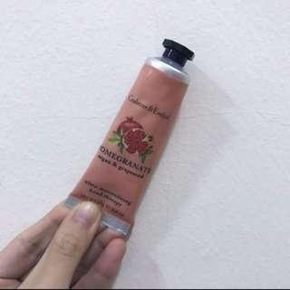 🚚 BN Crabtree And Evelyn Pomegranate Argan & Grapeseed Hand Cream 30ml