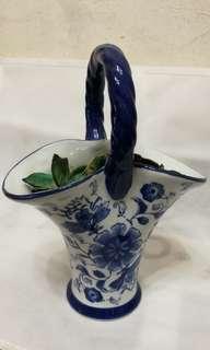 玻璃花樽 glass ceramic vase