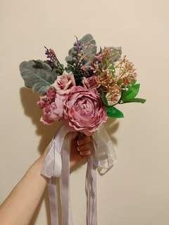 證婚 婚禮椅子 絲花裝飾