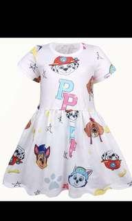Po paw Patrol kids dress brand new size 100-140cm