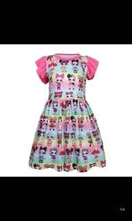 Po lol surprise dress brand new size 110-150cm
