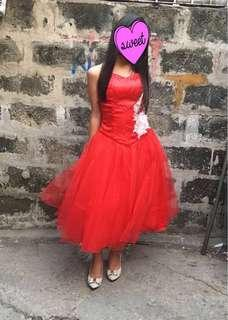 Repriced Red Dress