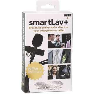 Rode SmartLav+ Lavalier Condenser Microphone for Smartphones