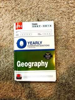 O Level Yearly Examination Papers for Geography(2007-2016)
