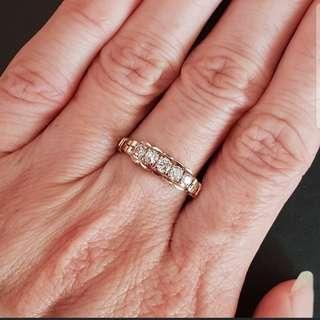 18k Vintage Diamond Ring