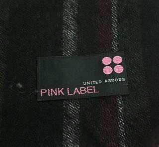 United Arrows Pink Label Scarf