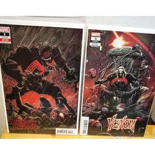 Venom #3 First appearance of Knull!  Hard to Find 2nd and 3rd prints variants