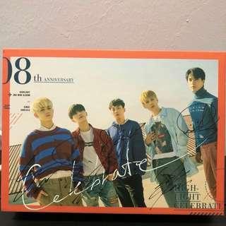 Highlight Signed 2nd Mini Album-Celebrate