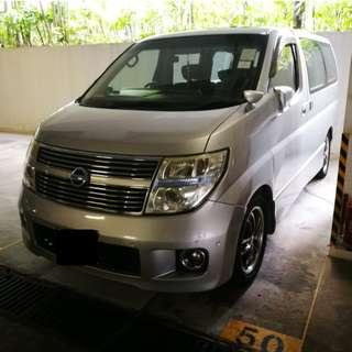NISSAN ELGRAND Highway Star 3.5 2008