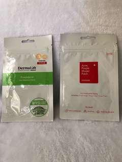 Cosrx Acne Pimple Patch and DermaLift anti-blemish Patch