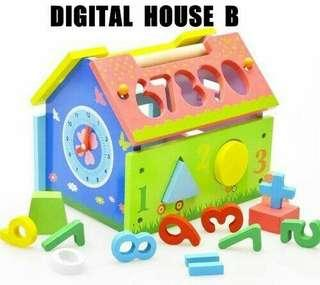 Multifunctional Wooden home puzzles