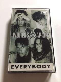Worlds Apart - Everybody (Cassette)