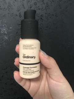 The Ordinary Co. Coverage Foundation 1.0P