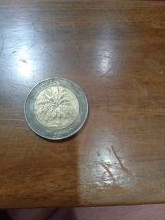 Uang koin pecahan 1000 tahun 1996