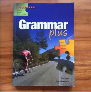 English grammar book with excerise