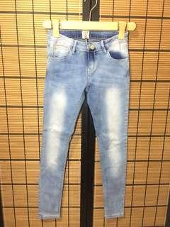 Acid Washed Jeans (Petite Fit)