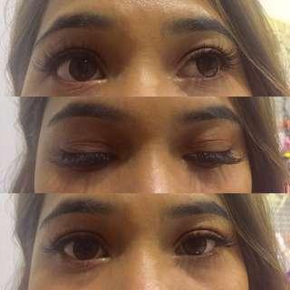 Eyelash extension classic