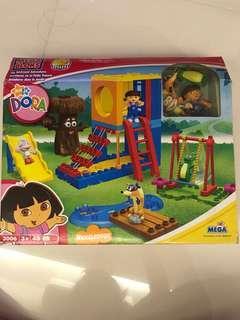 Dora megabloks big backyard adventures
