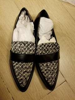 Zara 千鳥格紋鞋