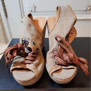 Sepatu Heels Casual Import