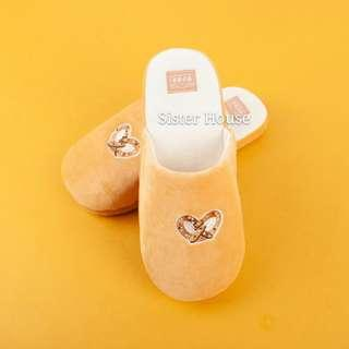🇰🇷Daiso Korea Bread & Cafe Indoor Slippers 大創韓國麵包室內拖鞋
